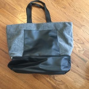 DSW Tote with shoe compartment